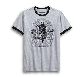 【純正品】HARLEY-DAVIDSON【数量限定】ハーレーダビッドソン・Men's Retro Chopper Slim Fit Tee・メンズ レトロチョッパー スリムフィット Tシャツ・ハーレー チョッパー プリントTシャツ:96227-18VM