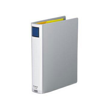 キングジム キングファイル スーパードッチ GXシリーズ 廉価版(A4判タテ型・両開き) 背幅:66mm(グレー)
