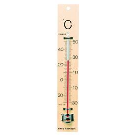 佐藤計量器 温度計 板付温度計