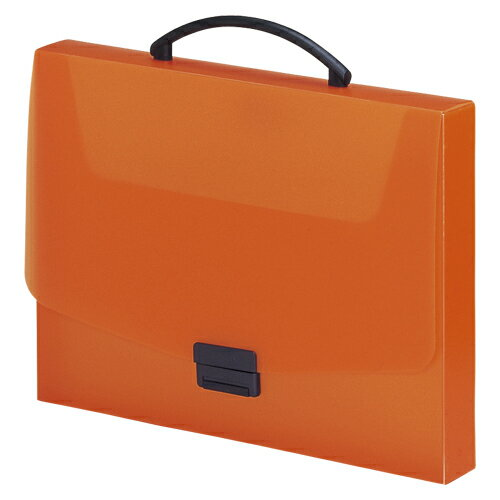 リヒトラブ AQUA DROPs(アクアドロップス) バッグ A4判 キャリングケース(橙)