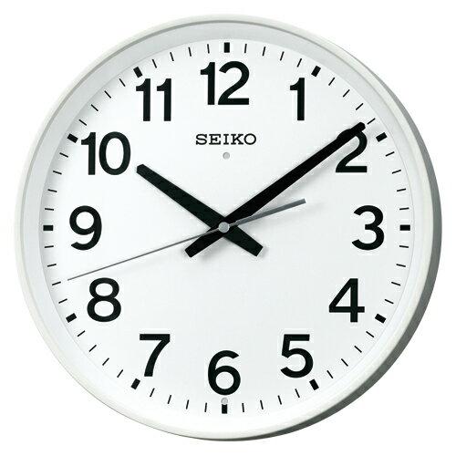 春の特別企画 エントリーでポイント5倍 20日23時59分まで/セイコー 掛時計(電波時計 掛け時計 壁掛け時計 電波クロック オフィス 学校) (連続秒針)