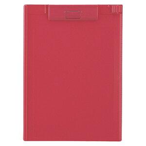 リヒトラブ クリップボード A4判ヨコ型(赤)