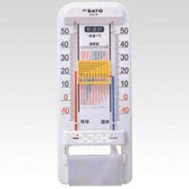 佐藤計量器 乾湿計 SK式1号 (ホワイト)