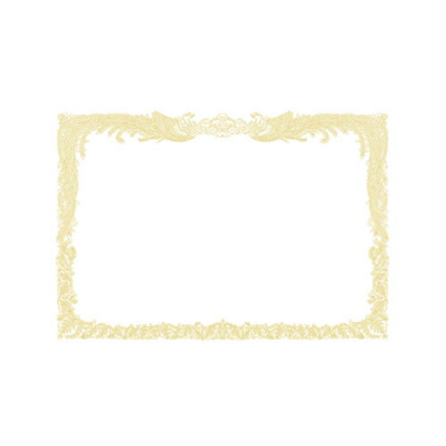 ササガワ OA賞状用紙 縦書用 100枚パック A4判(白)