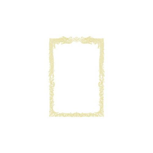 ササガワ OA賞状用紙 横書用 100枚パック B5判(白)