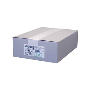 エーワン マルチカード レーザープリンタ専用 両面クリアエッジタイプ 名刺10面 標準 白無地(白無地)