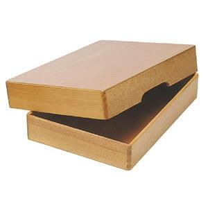 コレクト 決裁箱 B4 木製 生地塗