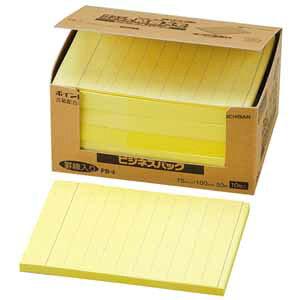 ニチバン はってはがせる再生紙粘着メモ 印刷入りタイプ(電話メモ、罫線入り)