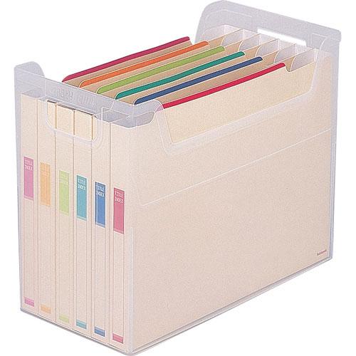 ナカバヤシ ファイルボックス A4 横