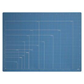 全商品ポイント2〜10倍9日0時より/ ナカバヤシ 折りたたみカッティングマット A2(ブルー)