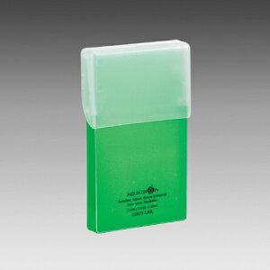 リヒトラブ AQUA DROPs カードケース(黄緑)