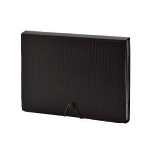 リヒトラブ SMART FIT ドキュメントファイル A4判 13ポケット(ブラック)