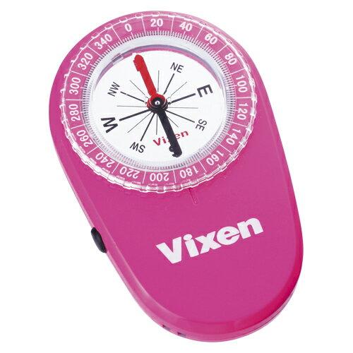 ビクセン LEDコンパス(ピンク) 電源:CR2016×1個(ピンク)