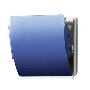 プラス マグネットクリップクリップ ホールド. L(クリップ幅47mm)(ブルー)