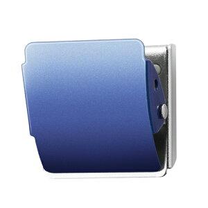 プラス マグネットクリップクリップ ホールド. M(クリップ幅40mm)(ブルー)