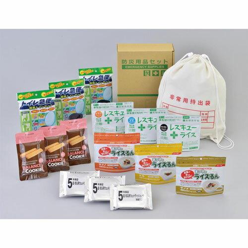 A4ボックス食料備蓄 3日間セットFLS−04 【46S1】 29610