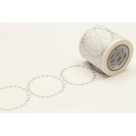 エントリーで全商品ポイント5倍24日1時59分まで/カモ井加工紙 mtXミナペルホネン tambourine grande マスキングテープ(silver)