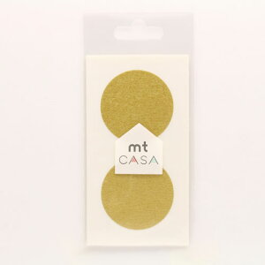 カモ井加工紙 mt CASA Seal  マスキングテープ(金)