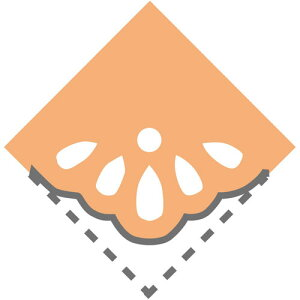 呉竹 キュアパンチ コーナー クラフトパンチ フラワーレース(フラワーレース)