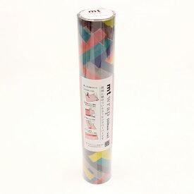 エントリーで全商品ポイント5倍24日1時59分まで/カモ井加工紙 mt wrap mina perhonen prism−vivid マステ マスキングテープ