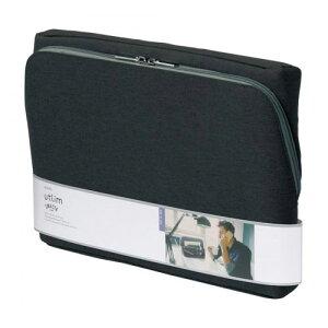 ソニック ユートリム スマ・スタ ワイド A4 立つバッグインバッグ スマスタ フリーアドレス テレワーク オンライン会議 ワイド A4(ブラック)