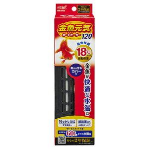 全商品ポイント2〜10倍9日0時より/ ジェックス 金魚元気 オートヒーター120 ペット用品