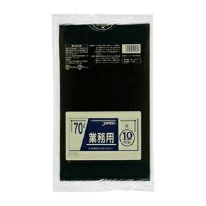 ジャパックス 業務用ポリ袋 黒(10枚入) 容量:70l