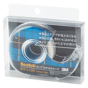 スリーエム スコッチ[R]はってはがせるテープ (小巻)巻芯径25mm 寸法:幅12mm×長20m