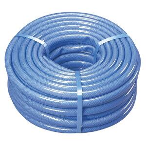 アイリスオーヤマ 耐圧糸入りカットホース 30m(ブルー)