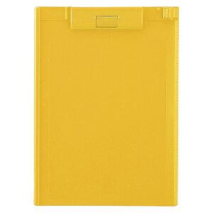 リヒトラブ クリップボード A4判ヨコ型(黄)