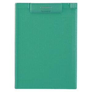 リヒトラブ クリップボード A4判ヨコ型(緑)