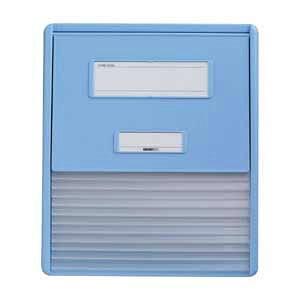 リヒトラブ カードインデックス A4 11ポケット(ブルー)