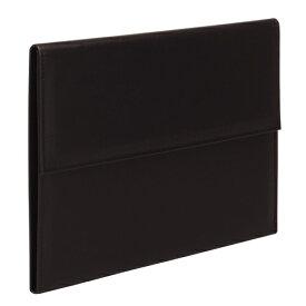テージー 不動産書類ホルダー(表紙文字無し) A4判 20ポケット エコタイプ(黒)