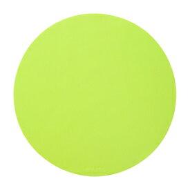 サンワサプライ シリコンマウスパッド サイズ:W180×D180×H0.5mm(グリーン)