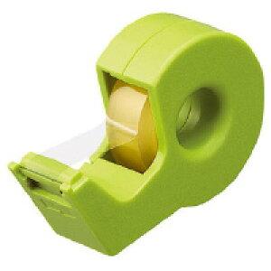 全商品ポイント5倍23日20時より/コクヨ テープカッター カルカット(ハンディタイプ・小巻き)(緑)