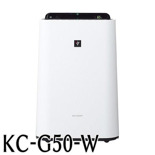 シャープ 加湿空気清浄機 KC−G50W(ホワイト)