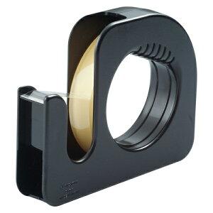 全商品ポイント3倍20日1時59分まで/ ニチバン セロテープ[R]ハンドカッター 直線美[R] (大巻ハンドカッター付)巻芯径76mm(黒)