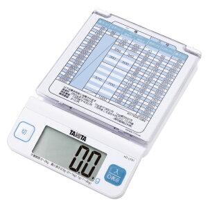 全商品ポイント3倍22日23時59分まで/タニタ デジタルレタースケール KD−LT01−WH