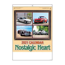 全商品ポイント3倍15日23時59分まで/代引不可 2021年 のりものカレンダー ノスタルジックハート 法人限定 名入れ代無料 100冊単位 911