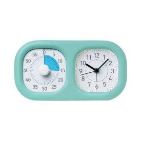 全商品ポイント3倍18日23時59分まで/ ソニック トキ・サポ 時っ感タイマー 時計プラス 家庭学習 LV−3521−MB(ミントブルー)