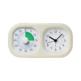 全商品ポイント3倍18日23時59分まで/ ソニック トキ・サポ 時っ感タイマー 時計プラス 家庭学習 LV−3521−I(アイボリー)