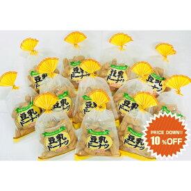 山田製菓/どーなつファーム/巾着豆乳ドーナツ(プレーン)/160g×12袋