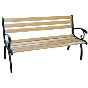 ベンチ 屋外 ガーデンベンチ アイアン ガーデン 2人掛け チェア 木製 チェアー 雨ざらし おしゃれ 業務用 パークベンチ ベンチシート 休憩所