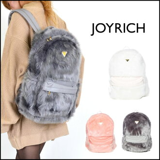Joyrich (JOYRICH) shop unisex! Candy Fur Backpack ladies mens backpack daypack far commuter school travel bag a4 (JOY-U1429BP)