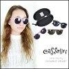 凯瑟琳 (casselini) 小脸看起来像女性太阳镜太阳镜面对 suppin 隐藏大框架黑色凯瑟琳商店