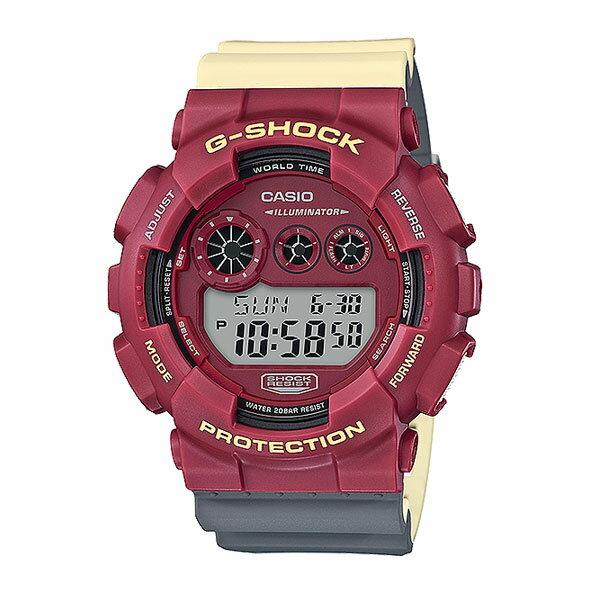 【ポイント10倍】G-SHOCK ジーショック GD-120NC メンズ 時計 腕時計 ウォッチ レディース ブランド カシオ Gショック casio 防水 スポーツ ヒップホップ ストリート MAROK マーロック カラフル ブルー 青 レッド 赤 プレゼント ギフト GD-120NC-2JF GD-120NC-4JF