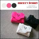 merry jenny メリージェニー くまさんちびウォレット レディース 財布 ウォレット ミニ ミニサイズ 小銭入れ 収納 レ…