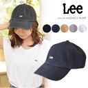 lee リー Lee LOGO CAP キャップ cap レディース 帽子 アジャスタブル ロゴ シンプル la0179