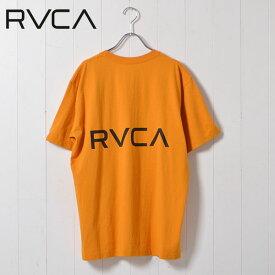 【SALE40%OFF】ルーカ RVCA 通販 BACK RVCA メンズ トップス カットソー Tシャツ プルオーバー クルーネック ロゴ プリント バックプリント シンプル 半袖 春夏 カジュアル aj041-234 メール便