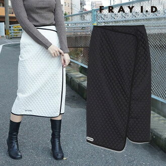 Ai Frey D FRAY I.D mail order kilt tight skirt Lady's skirt bottoms quilting OUTDOOR PRODUCTS collaboration comment logos Pau tea medium length daily FRAY ID fwfs185112